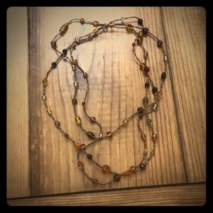 Jewelry - Long one strand beaded necklace